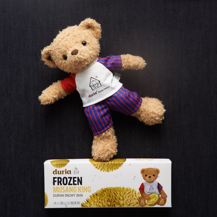 Duria Frozen Musang King Snowy Skin and Teddy Bear