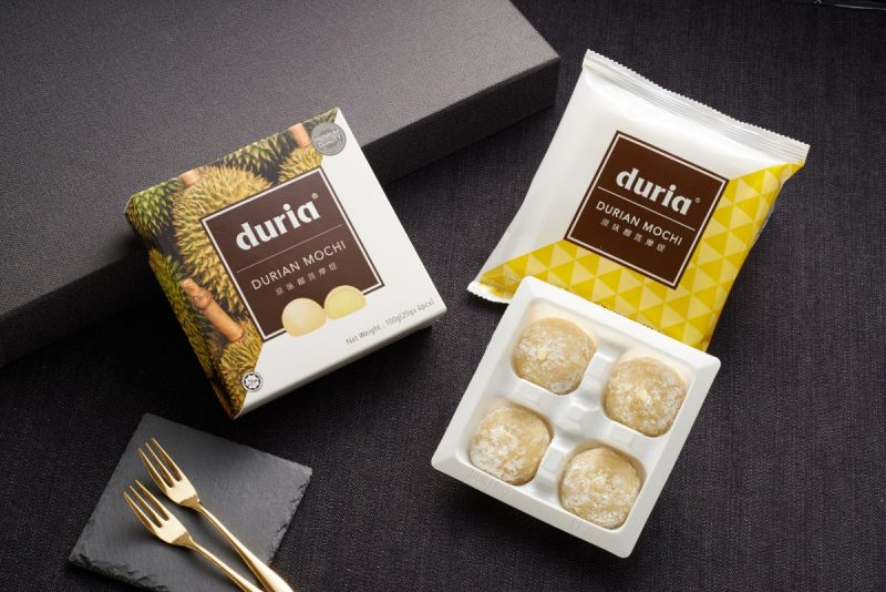 Durian Mochi Box Opened