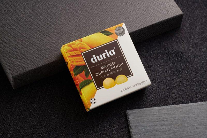 Mango Durian Mochi Front Box